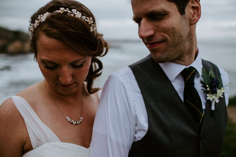Pnw beach wedding