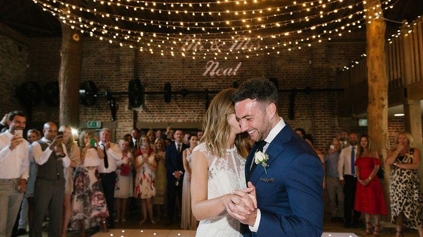 First dance & toscane lights