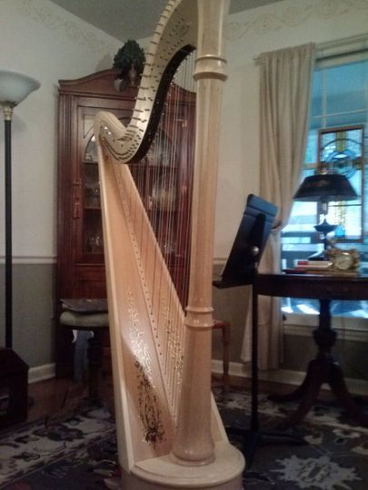 Anne's Lyon & Healy pedal harp