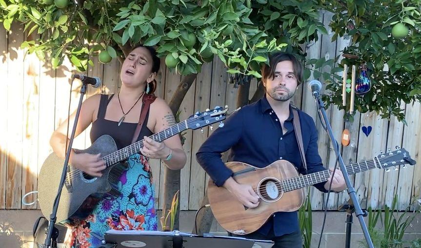 Acoustic Wedding in Covina
