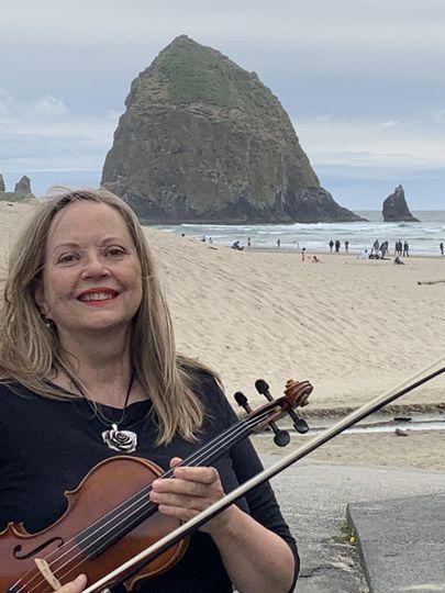 Solo violin is portable