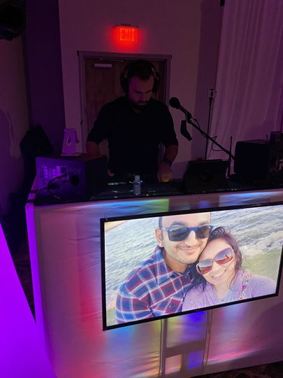 Our DJ Booth.