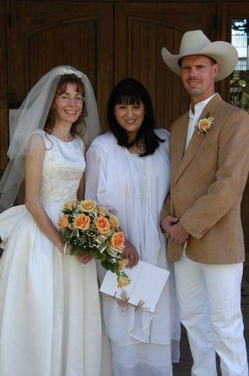 Wedding on a Ranch in Arizona