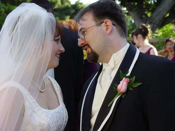 Nathan and Deanna right after they became Husband and Wife