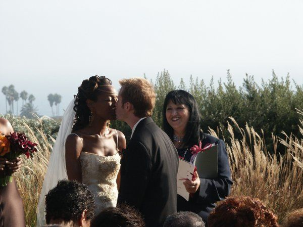 Fred and Nika's First  Kiss as Husband and Wife