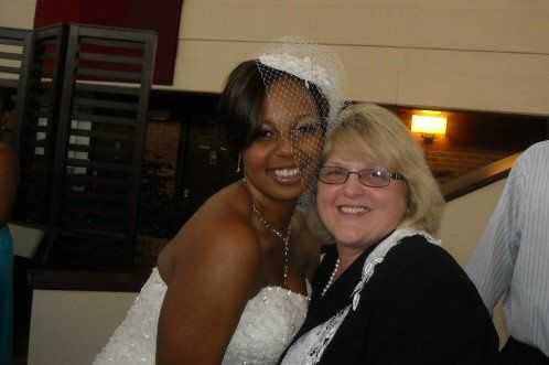Officiant with the bride