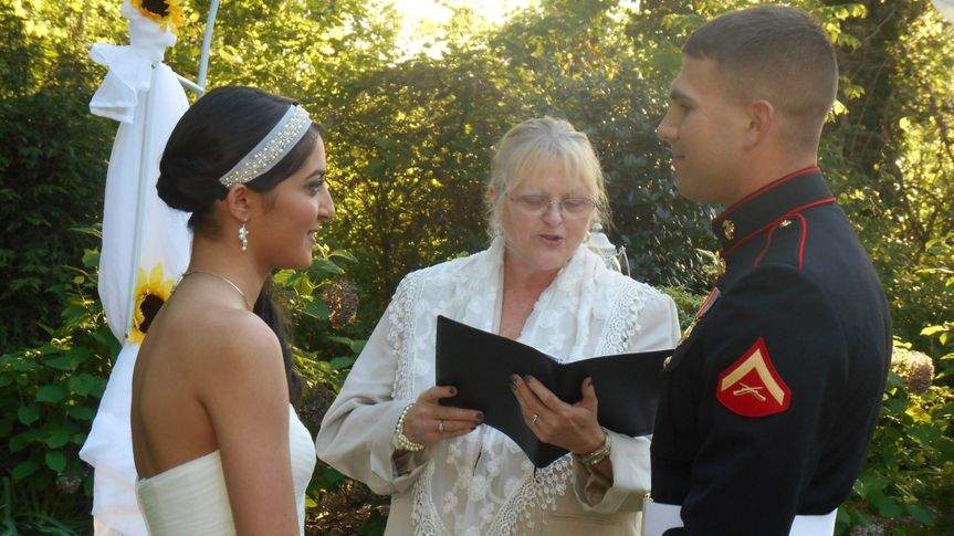Sherrie Binkley Officiant Services