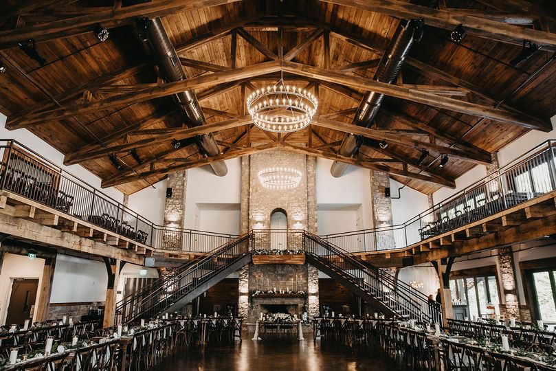 Inside the Gathering Hall - Janelle Elise Photography