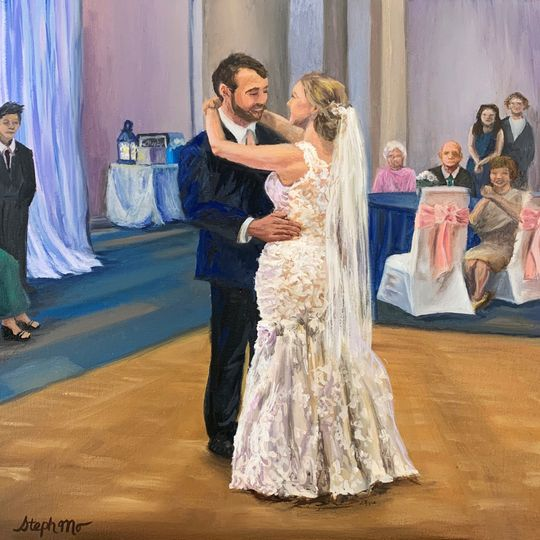Painting of First Dance