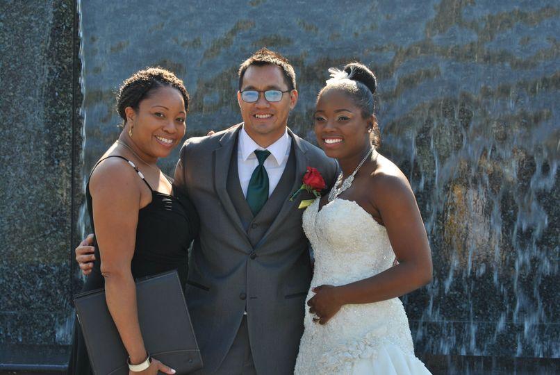 A beautiful trio