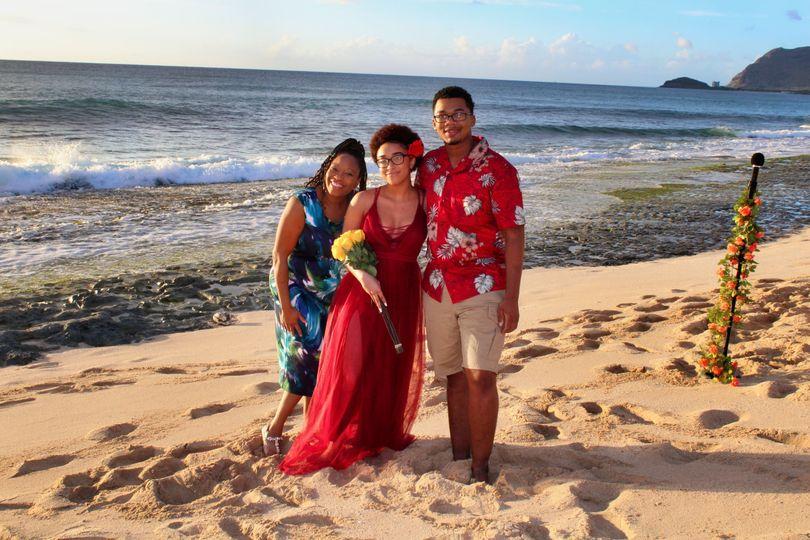 Beach weddings with Aloha