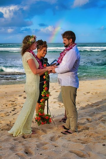 Beach Weddings and Rainbows