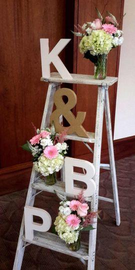 Wedding display bouquet