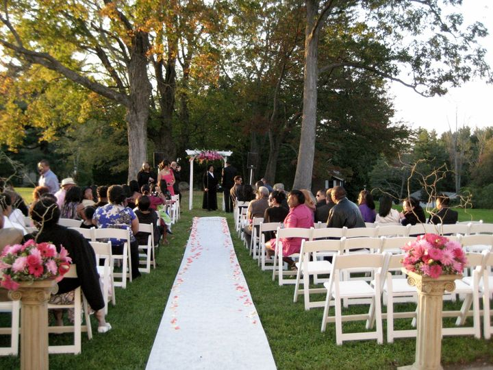 Tmx 1403537156703 Aisle View Pinks Westborough wedding florist