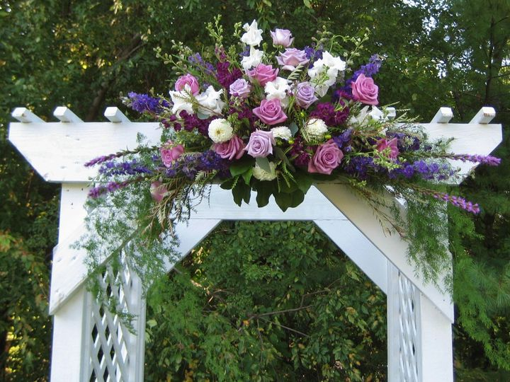 Tmx 1403537177634 Arbor Lav Purp Flrs Westborough wedding florist