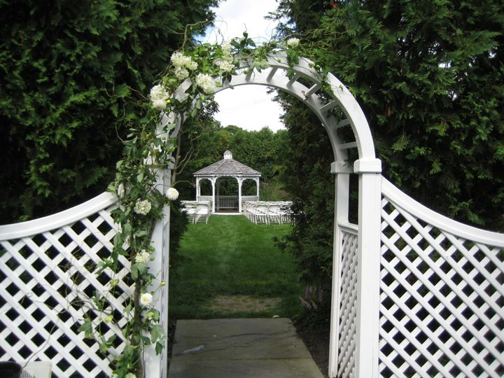 Tmx 1403537193190 Arbor White Fence Westborough wedding florist
