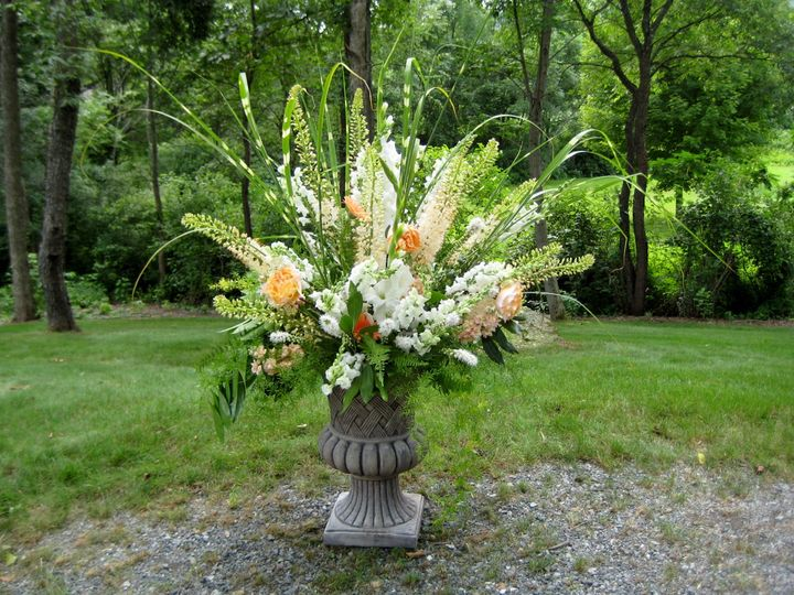 Tmx 1403537204373 Cerem Peach Wht Westborough wedding florist