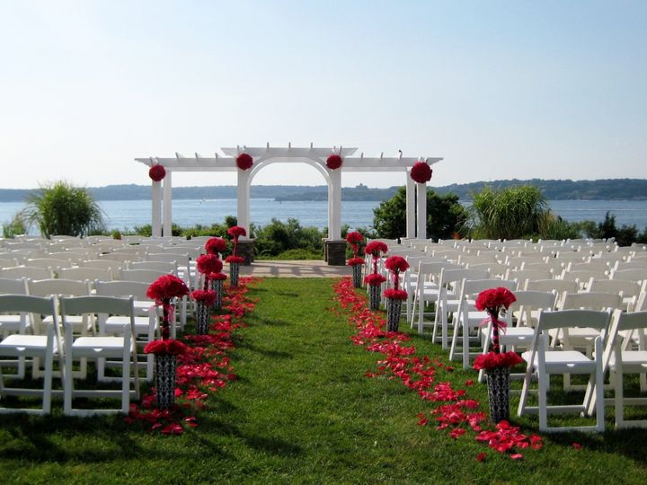 Tmx 1403537244275 Overall View Red Wht Blk Westborough wedding florist