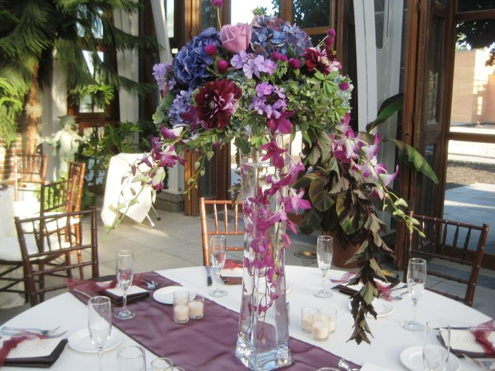 Tmx 1427131558834 Purples Blues Tower Hill Talls Westborough wedding florist