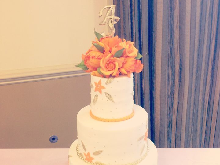Tmx 1401759917034 Img8141 Franklin Park wedding cake