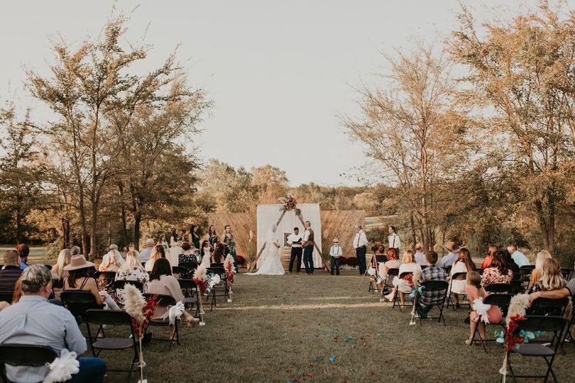 Outdoor Fall Wedding