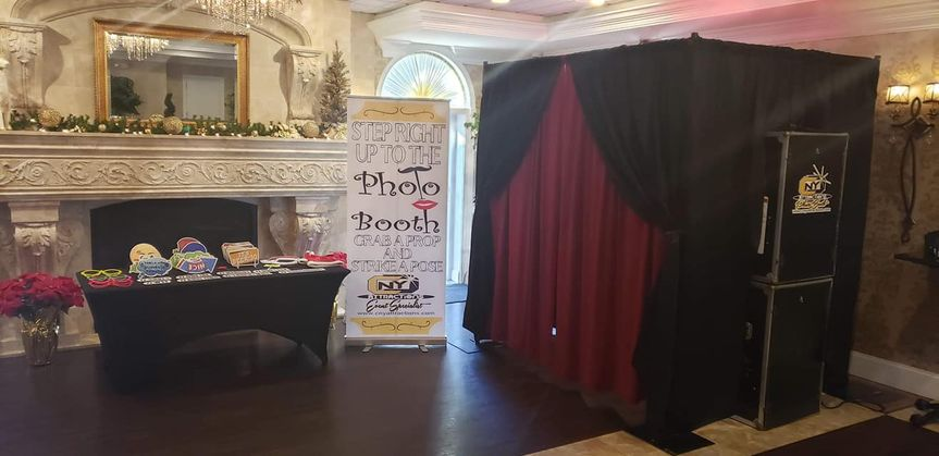 Booth at Corporate event