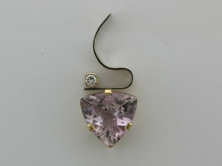 Tmx 1393429496890 14k Two Tone 7.29ct Rose De France To Portage wedding jewelry