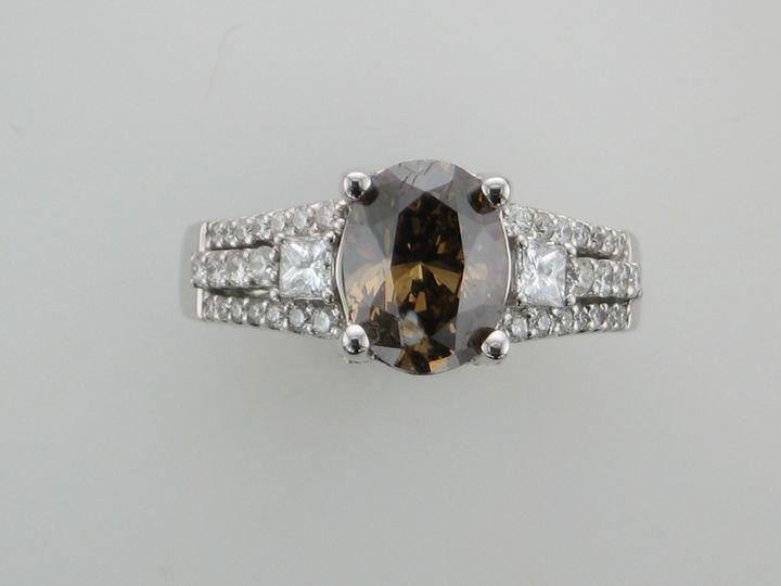 Tmx 1393429634882 Choclate Diamon Portage wedding jewelry