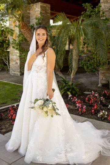 California Bridal Portrait