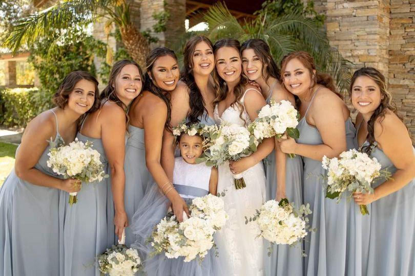 California Bridal Party
