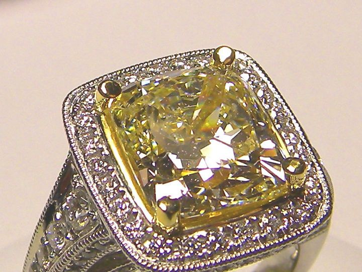 Tmx 1426367743899 5.01 Fancy Yellow2 Parkville, MD wedding jewelry