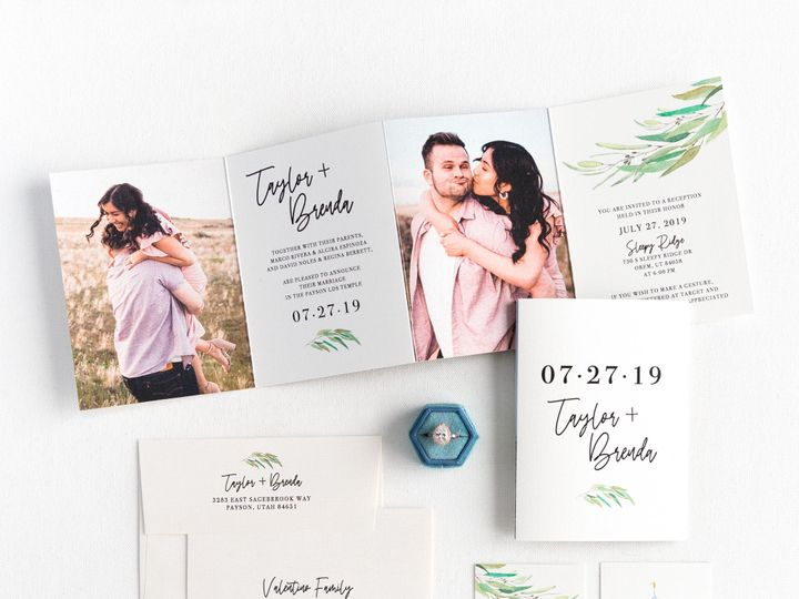 Tmx Prodigitalphotos105 51 110095 157569652994440 Pleasant Grove, UT wedding invitation