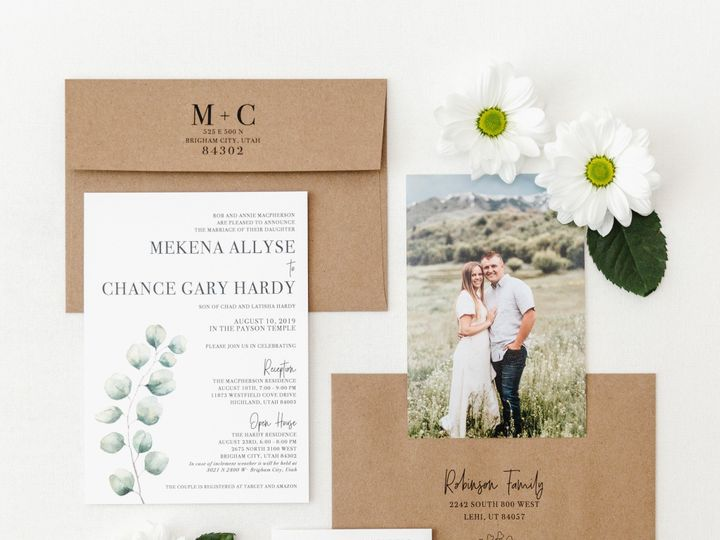 Tmx Prodigitalphotos122 51 110095 159226366348849 Pleasant Grove, UT wedding invitation