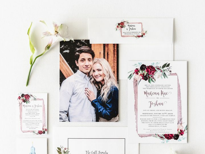 Tmx Prodigitalphotos129 51 110095 159226366928694 Pleasant Grove, UT wedding invitation