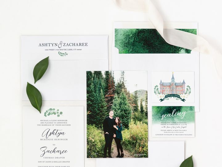 Tmx Prodigitalphotos12 51 110095 1558650509 Pleasant Grove, UT wedding invitation