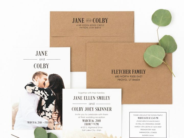 Tmx Prodigitalphotos29 51 110095 1558650533 Pleasant Grove, UT wedding invitation