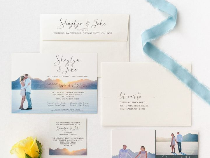 Tmx Prodigitalphotos45 51 110095 1558650546 Pleasant Grove, UT wedding invitation