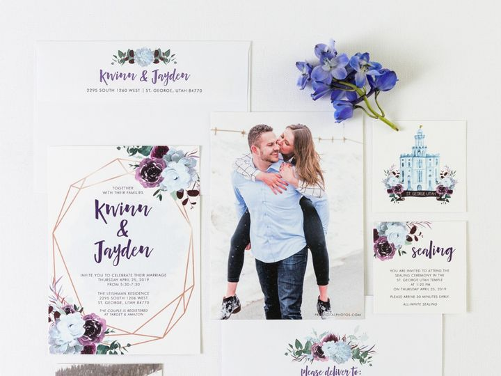Tmx Prodigitalphotos46 51 110095 1561139635 Pleasant Grove, UT wedding invitation