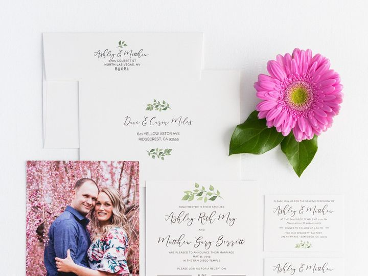 Tmx Prodigitalphotos84 51 110095 157569651524504 Pleasant Grove, UT wedding invitation