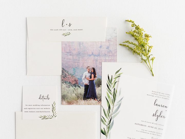 Tmx Prodigitalphotos97 51 110095 157569652946958 Pleasant Grove, UT wedding invitation