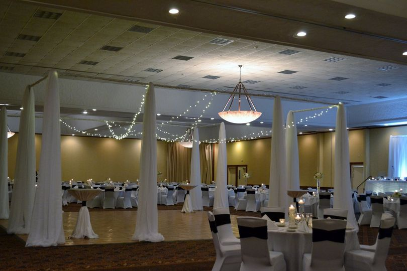 Full ballroom display
