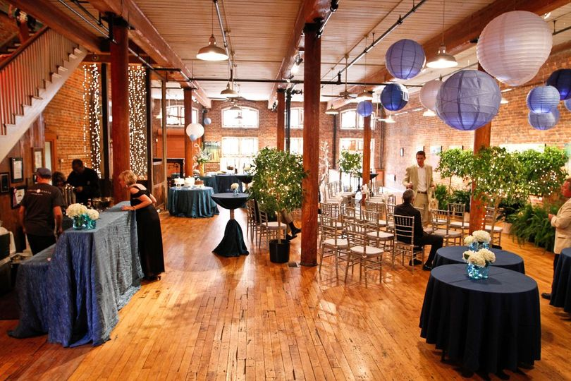 Wedding Reception & Ceremony at City Art