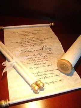 Scroll Mitzvah Wedding Invitations 000