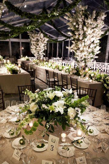 Extravagant floral designs