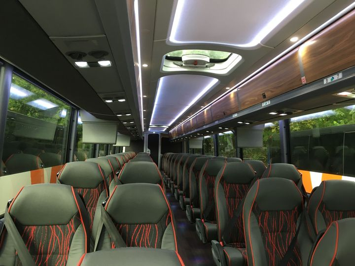56-Passenger Buses