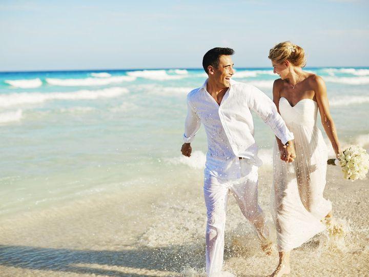 Tmx Hyatt Zilara Cancun Groom And Bride Walking Down Beach 51 414095 Arlington Heights, Illinois wedding travel