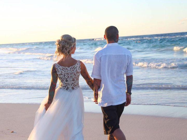 Tmx Kelly And Randi Behind Beach 51 414095 Arlington Heights, Illinois wedding travel