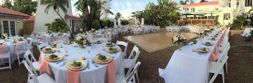 Courtyard Reception 200
