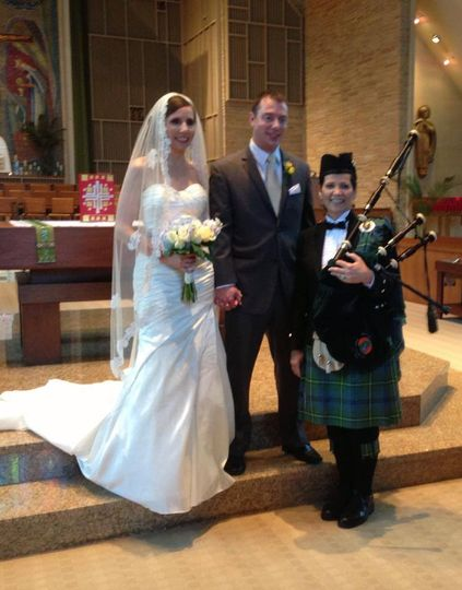 Michigan Wedding Bagpiper in West Bloomfield, MI