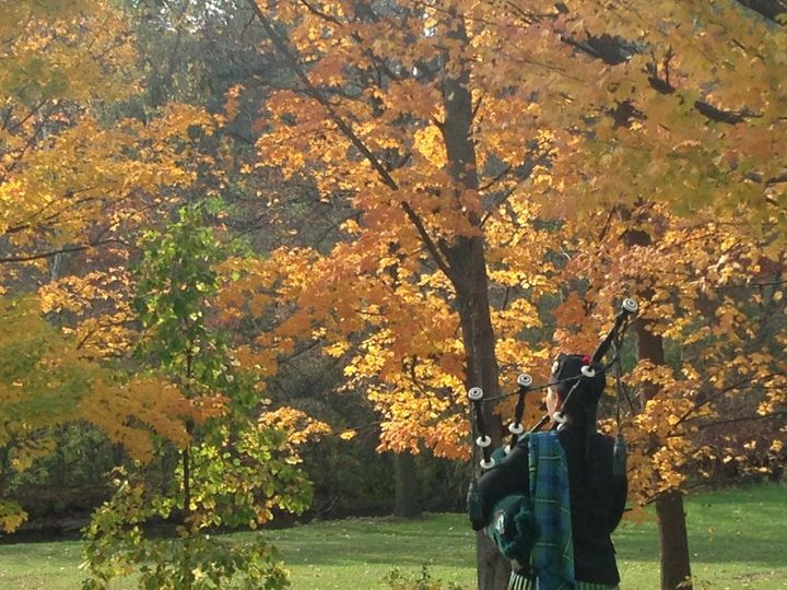Tmx 1389809914461 Fall Photo Of Me Piping Van Hoosen Far Troy wedding ceremonymusic